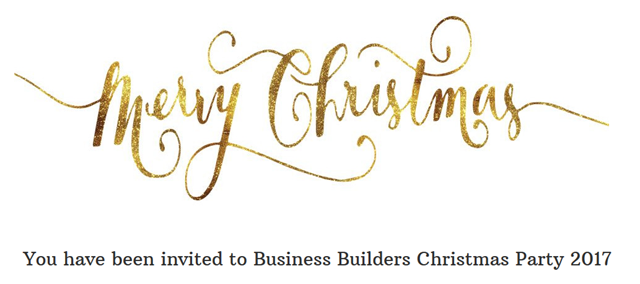 business builders christmas party 2017