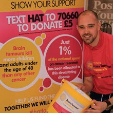 Tim Green - Brain Tumour Research charity