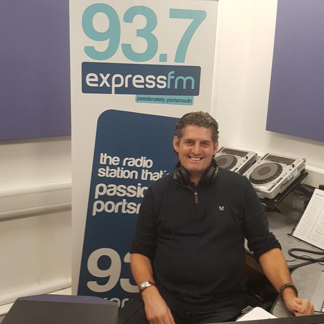 Richard Peckham - Portsmouth Flyers - ExpressFM