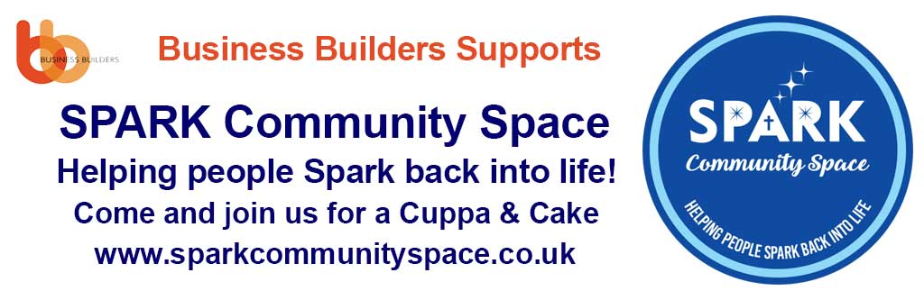 Business builders supports Spark Community Space charity